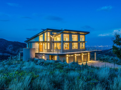 Sunshine Canyon Residence designed by Hower Architects in Boulder, Colorado
